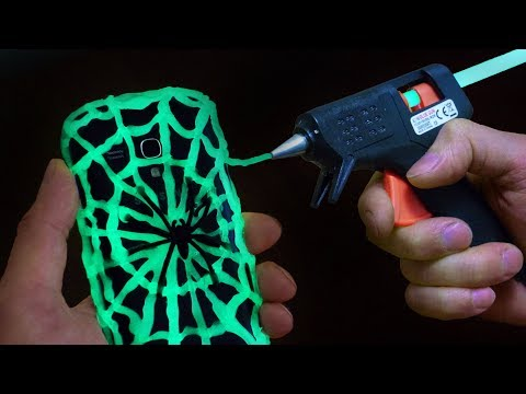 DIY Glow in the Dark Phone Case – Halloween