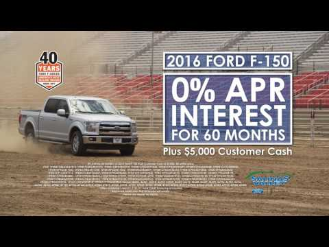 """Salinas Valley Ford - """"January Deals - 40 Years"""" (Jan. 4th - Jan. 31st)"""