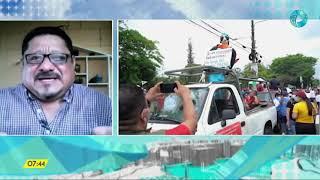 Entrevista Iván Manzano Periodista Salvadoreño
