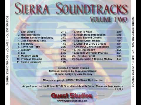 Sierra Soundtracks (Volume Two) (Quest Studios) [1999] [OST]