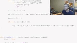 Pygame (Python Game Development) Tutorial - 71 - Shell Explosion
