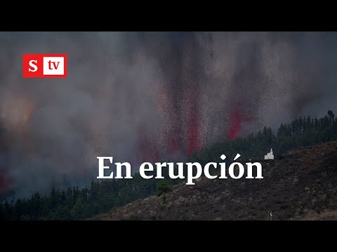 Volcán Cumbre Vieja hace erupción | Semana Noticias