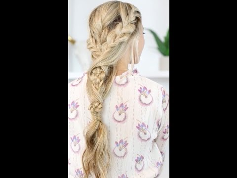 Three to one braid with a twist
