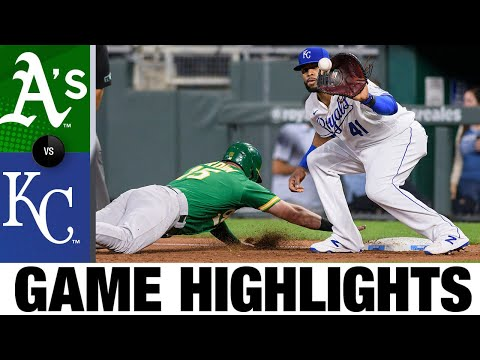 A's vs. Royals Game Highlights (9/14/21) | MLB Highlights