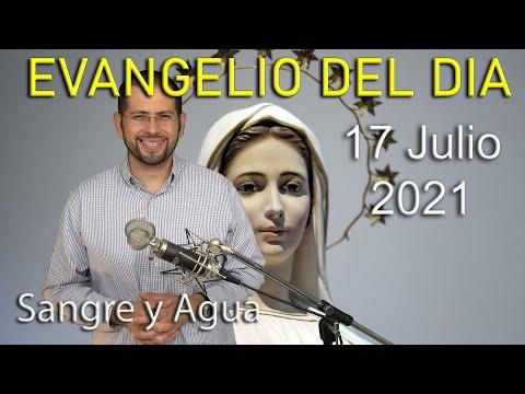 Evangelio Del Dia de Hoy - Sabado 17 Julio 2021- Como Guardar Silencio en Nuestra Alma Sangre y Agua