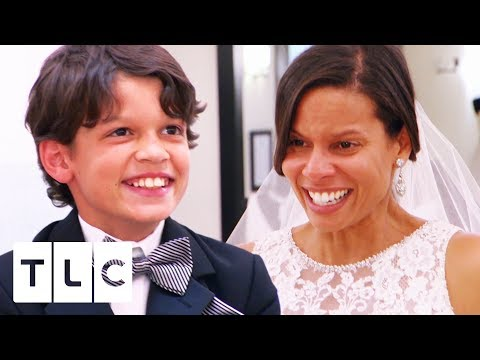 connectYoutube - Mini Fashionista Picks The Perfect Dress For His Mum | Say Yes To The Dress Atlanta