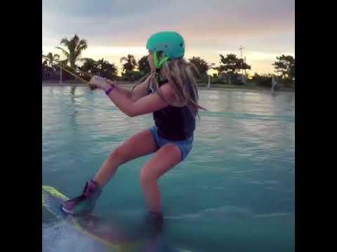 Wakeboardåkaren Eira Jansson