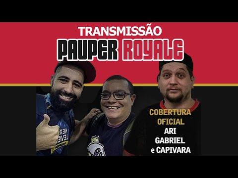 Pauper Royale - Narração ao vivo - 23-07-2020
