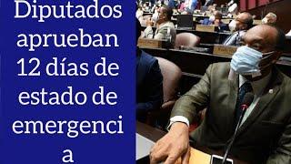 Diputados aprueban solo 12 días de estado de emergencia dicen no aprobarán una quinta vez