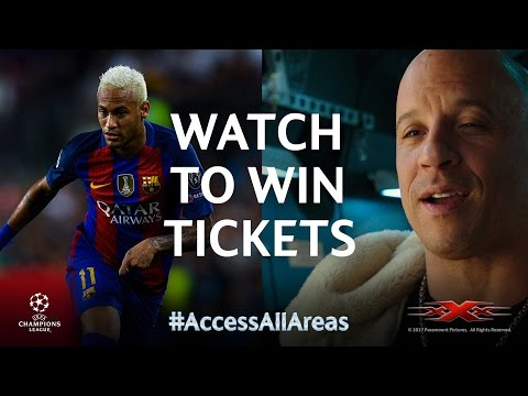 Vin Diesel: Win tickets to see Neymar and Barcelona