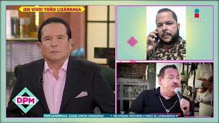 ¿Toño Lizárraga preocupado de haber convivido con Julio Preciado, sospechoso de COVID-19