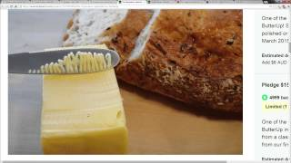 One Click Stick Butter Cutter: The Giz Wiz 1485