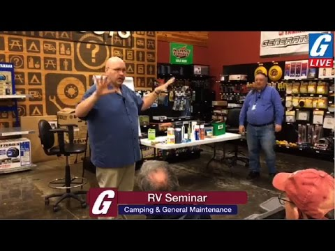 G-Live Presents: Getting your RV ready for Camping Season & General Maintenance - Part 2