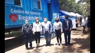 Inauguran centro de atención respiratorio en Chimaltenango