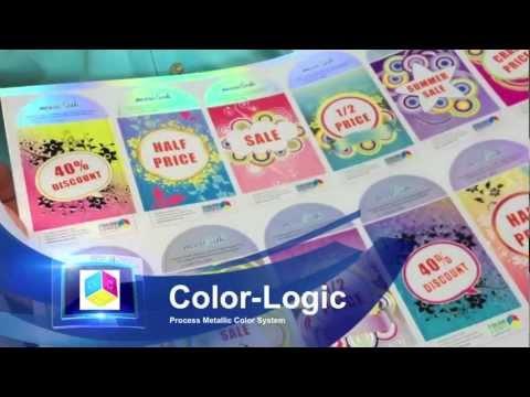 Color-Logic - Scodix on Digital print