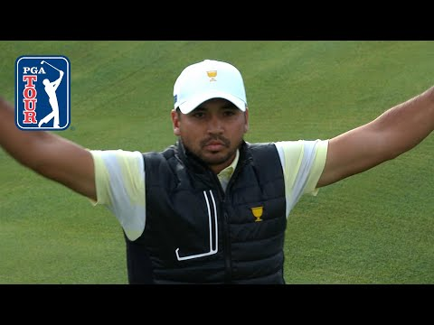 Jason Day showing off his short game at the Presidents Cup