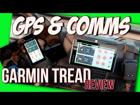Garmin Tread - GPS & 2 Way Radio system for offroad vehicles review