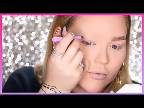 HOW TO FAKE FULL FLUFFY BROWS!! OMG! | NikkieTutorials