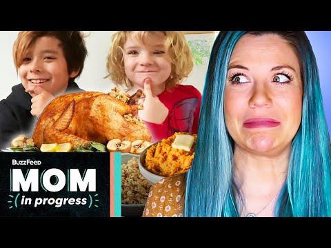 I Let My Kids Cook Thanksgiving Dinner • Mom In Progress