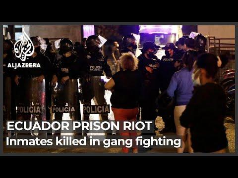 Death toll in Ecuador prison riot tops 100: Officials