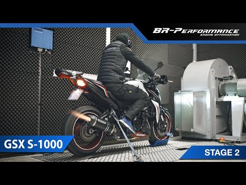Suzuki GSX-S1000 / Stage 2 By BR-Performance / Decat Performance Exhaust & Air Filter