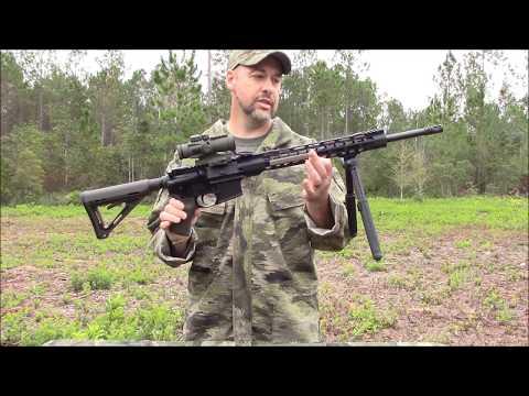 Poor mans M27 IAR/RPK build - the area denial weapon
