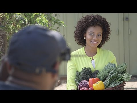 Behind the Scenes With Haile Thomas