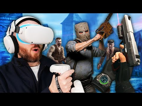 Is Resident Evil 4 Better In VR!? Oculus Quest 2 Gameplay & ...