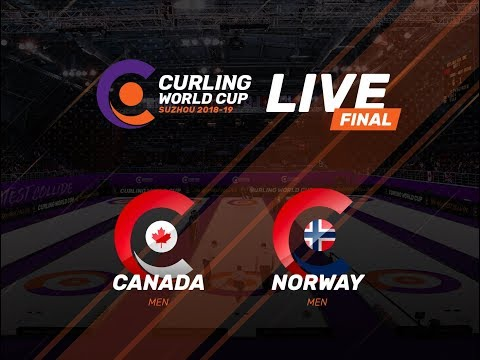 Canada v Norway - Men's Final - Curling World Cup First Leg - Suzhou