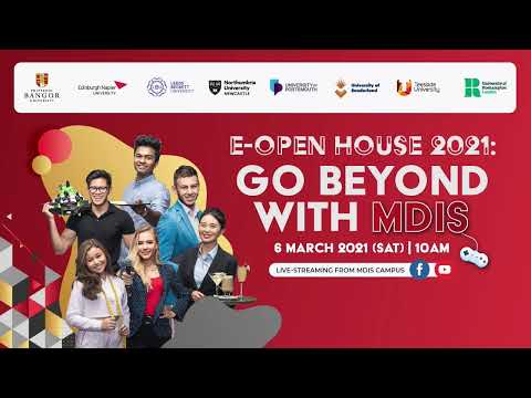 MDIS E-Open House 2021 - Spin and Win