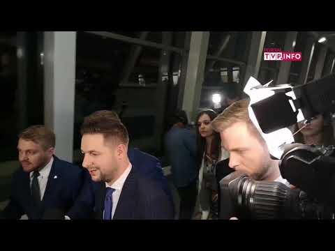 Komentarz Patryka Jakiego i Rafała Trzaskowskiego po zakończeniu Debaty Warszawskiej