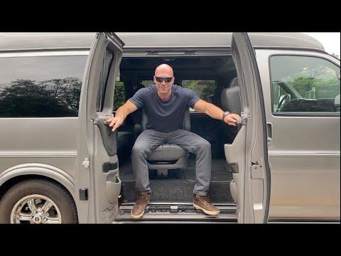 Сonversion Van для путешествия от Атлантики до Тихого Океана