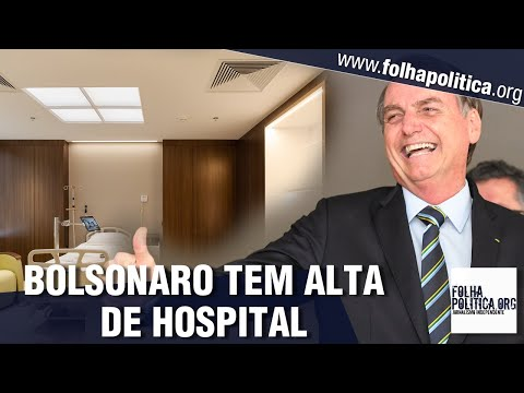 Bolsonaro tem alta de hospital e deve retornar a Brasília