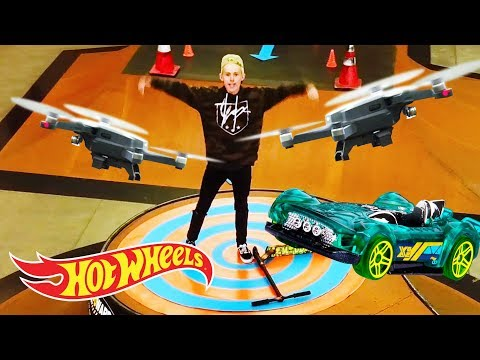 How We Crashed 2 Drones in 1 Afternoon  | Hot Wheels Unlimited: Track Builder Edition | Hot Wheels