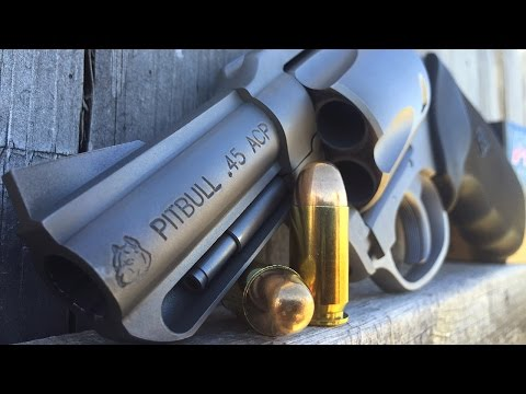 Charter Arms Pitbull  Revolver in .45 ACP Review