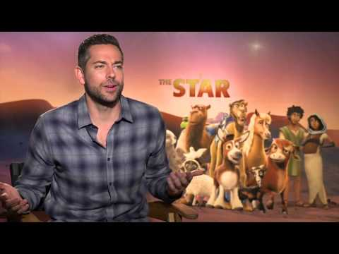 Zachary Levi interview THE STAR