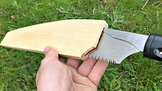 How To Make A Beautiful Wood Saw Sheath