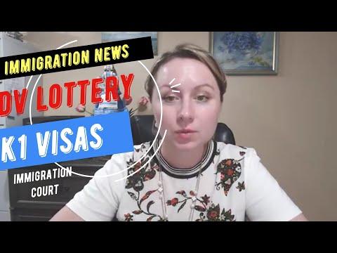 Immigration News Updates on Trump's Proclamation Lawsuit:  DV lottery  2020 news, K1 Visa Interview