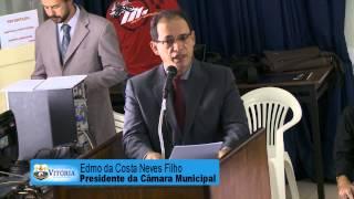 Trecho do discurso do Professor Edmo na Audiência Pública do Carnaval