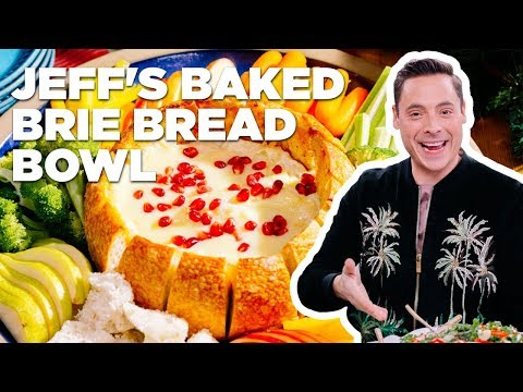 Baked Brie in a BREAD Bowl with Jeff Mauro | Food Network