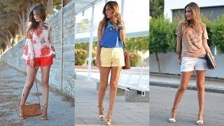 16 Cool and Comfy Combinations with Shorts for Girls
