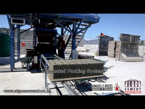 Algoa Cement Industries - Armadillo Bricks