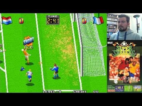 SUPER SIDEKICKS (Arcade / Neo Geo) - Un clásico de fútbol inolvidable    Gameplay en Español