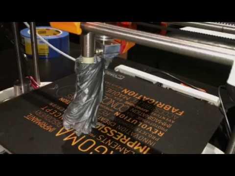 L'imprimante 3D Dagoma en action