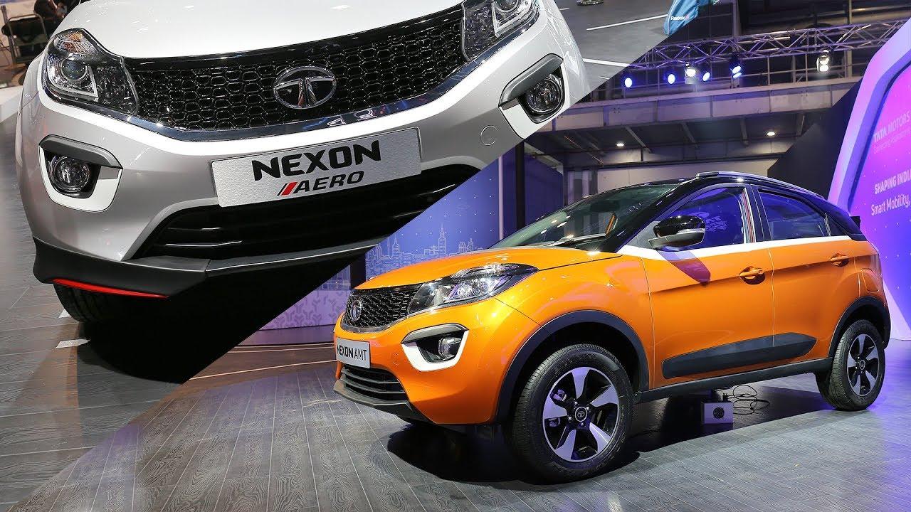 Tata Nexon AMT & AERO Body Kit | First Look | Auto Expo 2018 | ZigWheels.com