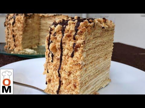 Медовик на Сковородке, Вкусно и Просто | Honey Cake Recipe | Ольга Матвей