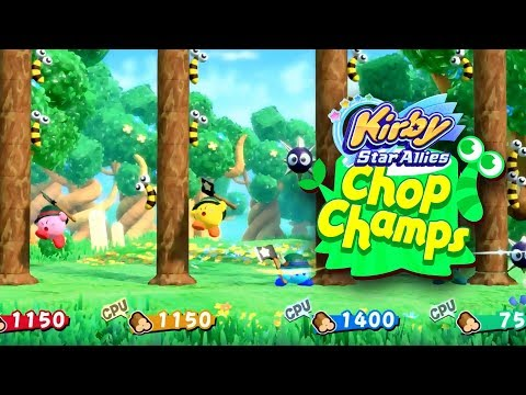 connectYoutube - Kirby Star Allies   Chop Champs Gameplay
