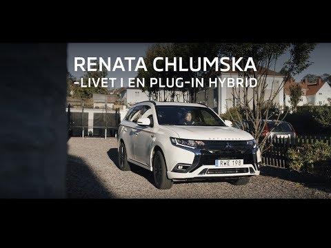 Livet i en Mitsubishi OUTLANDER PLUG-IN HYBRID med Renata Chlumska: Äventyraren