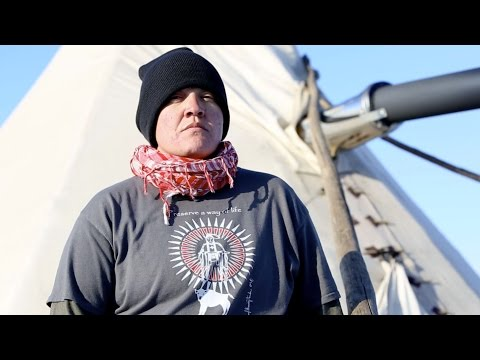 Standing Rock: A Nakota Iraq Veteran fighting for peace | The World