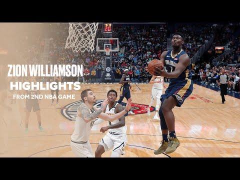 Zion Williamson Records Most Efficient Two Game Start In Shot-Clock Era
